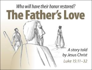 prodigal son, honor and shame, gospel of jesus